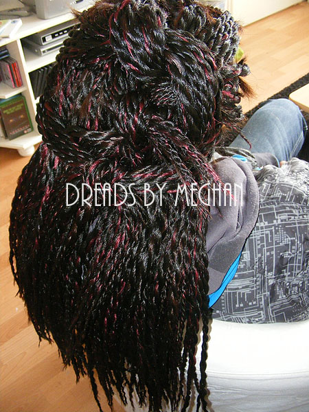 Dreads By Meghan Synthetisch