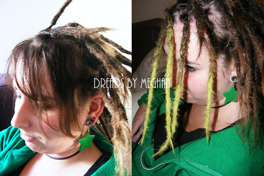 Dreads By Meghan Verlengen Synthetisch Haar